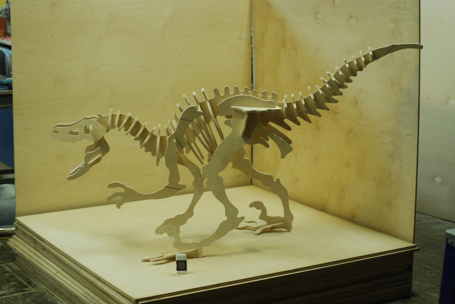 Динозавр своими руками скелет 587